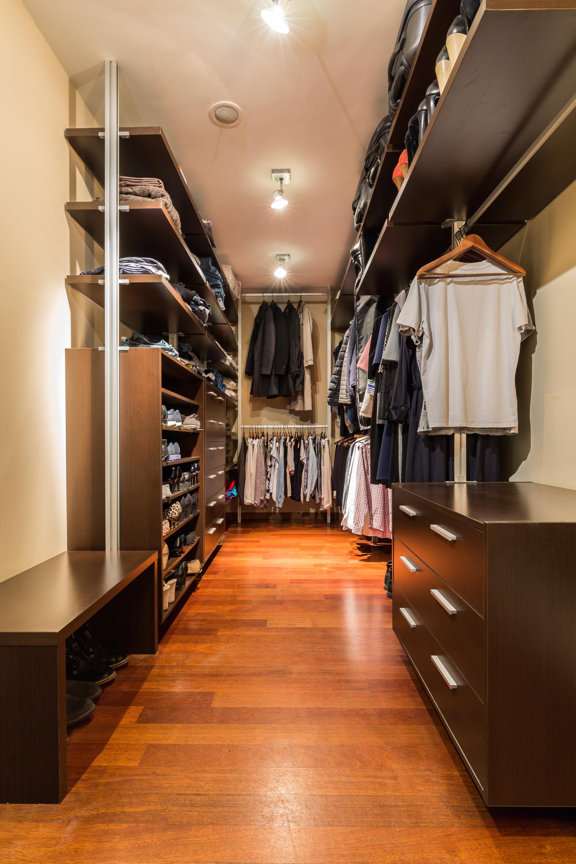 Combien coûte l'aménagement d'un dressing